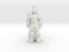Arthas: Lich King from World of Warcraft (rest) in White Strong & Flexible