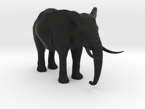African Alpha Elephant in Black Strong & Flexible