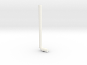 PRHI Micro Display Rod in White Strong & Flexible Polished