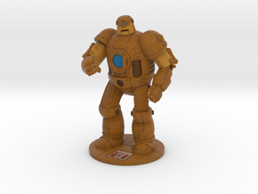 "Walter Tank - 4"" tall in Full Color Sandstone"