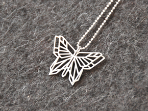 Butterfly Pendant in Premium Silver