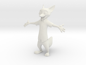 Nick Wilde Zootopia in White Strong & Flexible