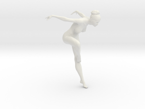 1/18 Nude Dancers 010 in White Strong & Flexible