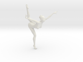 1/18 Nude Dancers 015 in White Strong & Flexible