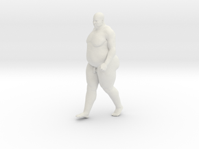 1/20 Fat Man 005 in White Strong & Flexible
