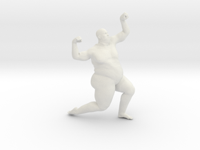 1/20 Fat Man 010 in White Strong & Flexible