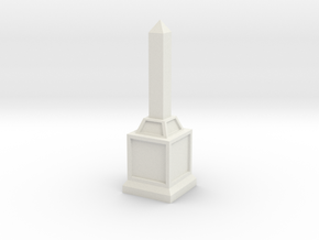 Obelisk of Victory in White Strong & Flexible