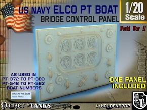 1-20 PT Boat Bridge Control Pannel Typ3 in Frosted Ultra Detail