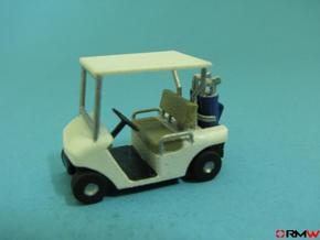 HO/1:87 Golf cart, kit in Frosted Ultra Detail