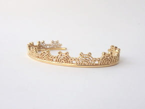 Lace Wrap Cuff - Medium in 14k Gold Plated