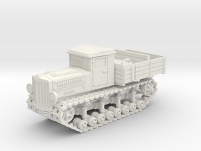 Komintern Tractor (20mm) in White Strong & Flexible