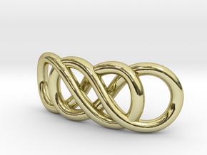 Double Infinity in 18k Gold