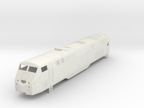 P32 AC-DM MetroNorth H0  in White Strong & Flexible