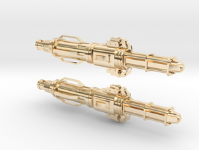 12th Doctor's Sonic Screwdriver Earrings in 14k Gold Plated