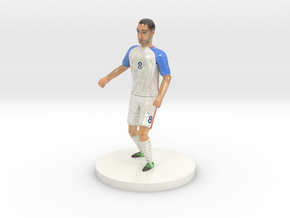 US Soccer Player in Coated Full Color Sandstone