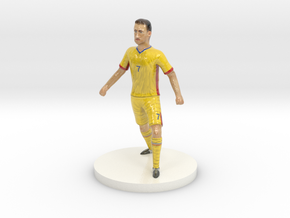 Romanian Football Player in Coated Full Color Sandstone