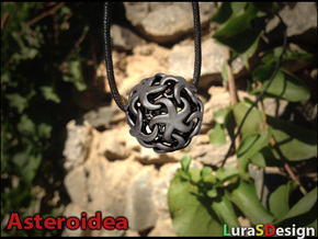 Asteroidea Pendant - Starfish Sphere in Stainless Steel