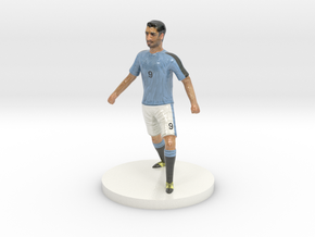 Uruguayan Football Player in Coated Full Color Sandstone