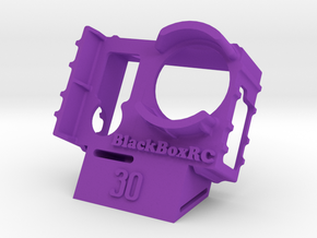 ExoPro GoPro 3 & 4 WEDGE Case (30) in Purple Strong & Flexible Polished