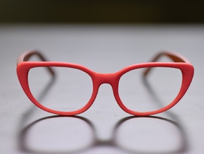 Optoid Hybrid MkXI: Custom FIt Rx Eyewear in White Strong & Flexible Polished