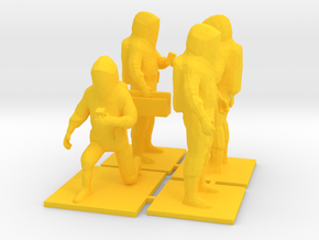Haz Mat Technician Team, 1:64, Code 3 Accessorie in Yellow Strong & Flexible Polished