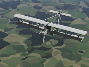 1/144 Voisin 8 Ca2 in White Strong & Flexible