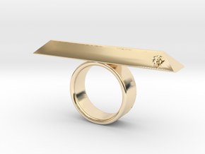 BOHOCK RING Eclectiqueatelier in 14K Gold