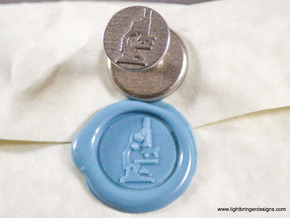 Microscope Wax Seal in Stainless Steel