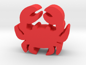 Game Piece, Crab in Red Strong & Flexible Polished