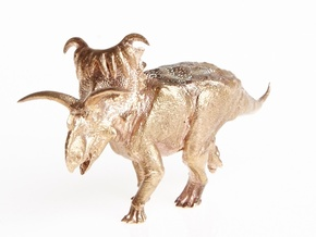 Kosmoceratops 1/72 Krentz in Raw Bronze