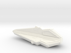 Tholian Y-8 Cruiser in White Strong & Flexible Polished