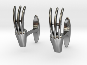 Claws cufflinks in Premium Silver