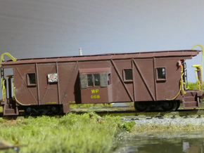 Western Pacific (WP & SN) Caboose N Scale in Frosted Ultra Detail
