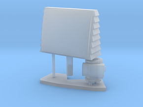 1:96 scale SPQ-9B radar in Frosted Ultra Detail