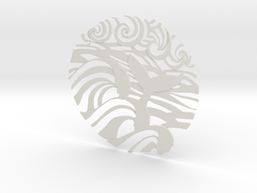Ocean Wave tattoo in White Strong & Flexible