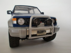 Tamiya Pajero front guard type 2 in White Strong & Flexible