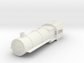 PRR H8 G Scale Boiler and Cab, Simplified in White Strong & Flexible