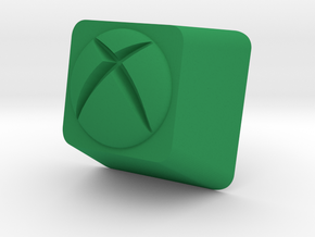 XBox One Cherry MX Keycap in Green Strong & Flexible Polished