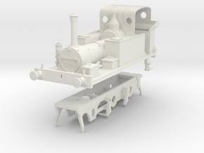 0 Gauge kit for Millwall Extension Railway 2 4 0 t in White Strong & Flexible