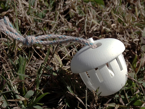 Acorn Bell (Large Size) in White Strong & Flexible