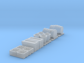 TT Scale 1:120 Cargo Accessories in Frosted Ultra Detail