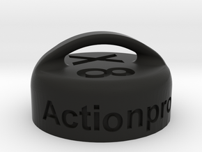Actionpro X8 Objektivkappe / Lens Hood in Black Strong & Flexible