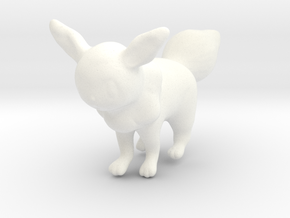 Eevee in White Strong & Flexible Polished