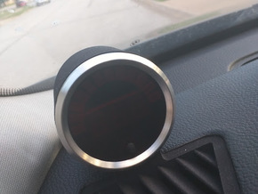 E90 Vent Gauge Pod in Black Strong & Flexible