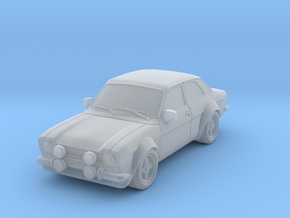 1:87 Escort mk1 2 door rs 1600 v1 hollow in Frosted Ultra Detail