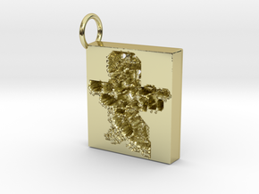 18k gold soldier keyring in 18k Gold