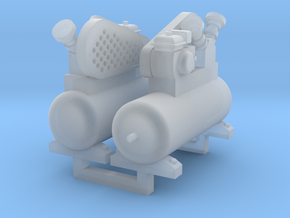 Air Compressor 2 Pack 1-87 HO Scale in Frosted Ultra Detail