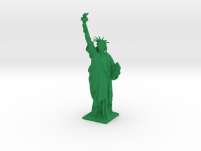 Statue of Liberty 150mm in Green Strong & Flexible Polished