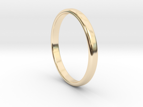 Ring Band Size 13 in 14k Gold Plated