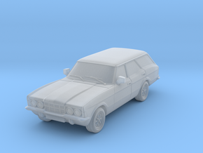 1:87 Cortina mk3 standard 4 door estate hollow in Frosted Ultra Detail
